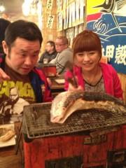 アントニオ小猪木 公式ブログ/魚やサザエを網焼き 画像1