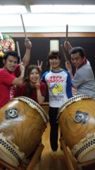 アントニオ小猪木 公式ブログ/浅草で太鼓の稽古 画像1