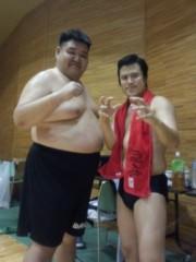 アントニオ小猪木 公式ブログ/若翔洋さんラスト試合へ 画像1