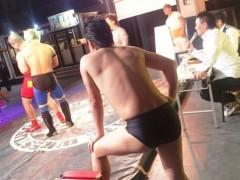 アントニオ小猪木 公式ブログ/秋の赤坂大会ゴング! 画像1