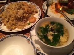 アントニオ小猪木 公式ブログ/高級ホテルの炒飯とスープ! 画像1