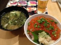 アントニオ小猪木 公式ブログ/築地で誕生日寿司! 画像1