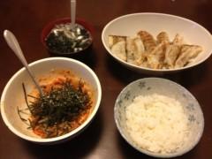 アントニオ小猪木 公式ブログ/餃子定食作ったど! 画像1
