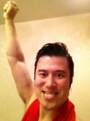 アントニオ小猪木 公式ブログ/ボクシングジムに登場! 画像1