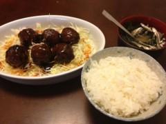 アントニオ小猪木 公式ブログ/肉だんご定食作った 画像1