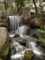 アントニオ小猪木 公式ブログ/楽水園の滝 画像1