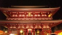 アントニオ小猪木 公式ブログ/キレイな浅草寺の門 画像1