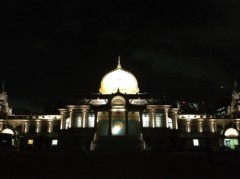 アントニオ小猪木 公式ブログ/夜の築地本願寺 画像1
