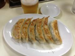 アントニオ小猪木 公式ブログ/餃子とビール 画像1