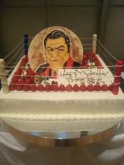 アントニオ小猪木 公式ブログ/リングのケーキ 画像1