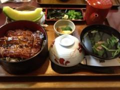 アントニオ小猪木 公式ブログ/掛川でのうなぎ 画像1