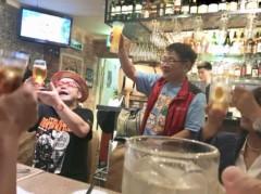 アントニオ小猪木 公式ブログ/フラッシュ恒例の乾杯! 画像1