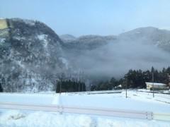 アントニオ小猪木 公式ブログ/岐阜の揖斐川での雪 画像1