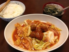 アントニオ小猪木 公式ブログ/肉団子野菜炒め 画像1