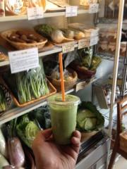 アントニオ小猪木 公式ブログ/徳島で野菜ジュース 画像1