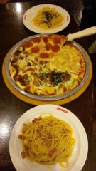 アントニオ小猪木 公式ブログ/ピザ&パスタ 画像1