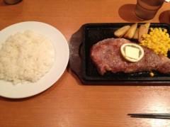 アントニオ小猪木 公式ブログ/初の曙ステーキ! 画像1