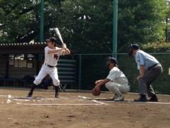 アントニオ小猪木 公式ブログ/長打の右中間二塁打! 画像1