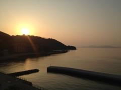 アントニオ小猪木 公式ブログ/水俣の海の夕焼け 画像1