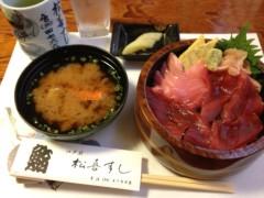 アントニオ小猪木 公式ブログ/ランチに寿司 画像1