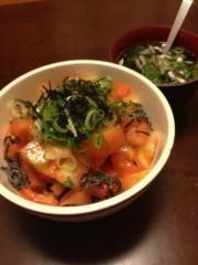 アントニオ小猪木 公式ブログ/あれれトマト丼 画像1