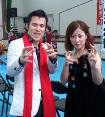 アントニオ小猪木 公式ブログ/歌手mika再会! 画像1