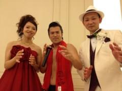 アントニオ小猪木 公式ブログ/新喜劇石走理子の結婚式 画像1