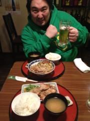 アントニオ小猪木 公式ブログ/帰国後初の定食! 画像1