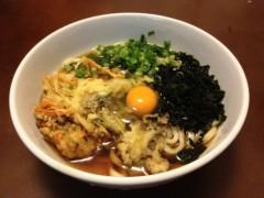 アントニオ小猪木 公式ブログ/キノコの天ぷらうどん 画像1