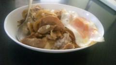 アントニオ小猪木 公式ブログ/豚目玉丼 画像1