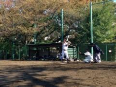 アントニオ小猪木 公式ブログ/雨の次の日も草野球 画像1