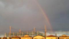アントニオ小猪木 公式ブログ/雨上がりの虹 画像1