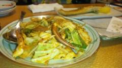 アントニオ小猪木 公式ブログ/イカ野菜キムチ炒め 画像1