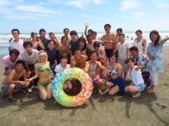 アントニオ小猪木 公式ブログ/由比ヶ浜での集合写真! 画像1
