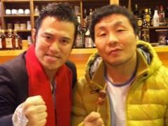 アントニオ小猪木 公式ブログ/金原弘光選手も来店 画像1