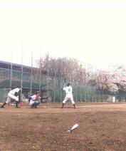 アントニオ小猪木 公式ブログ/風の強い中プレイボール 画像1