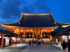 アントニオ小猪木 公式ブログ/久々に急遽浅草寺でお参り 画像1