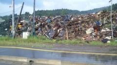 アントニオ小猪木 公式ブログ/大船渡の瓦礫 画像1