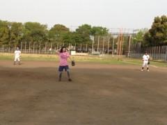 アントニオ小猪木 公式ブログ/女性投手登場! 画像1
