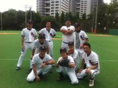 アントニオ小猪木 公式ブログ/真夏の野球練習 画像1