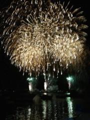 アントニオ小猪木 公式ブログ/沼津の港に上がる花火! 画像1