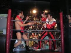 アントニオ小猪木 公式ブログ/神戸で再試合ゴング! 画像1
