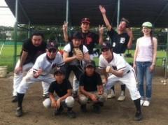 アントニオ小猪木 公式ブログ/夏バテ草野球の結果は? 画像1