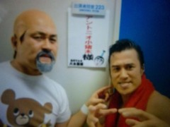 アントニオ小猪木 公式ブログ/志村けんのバカ殿様初出演 画像1