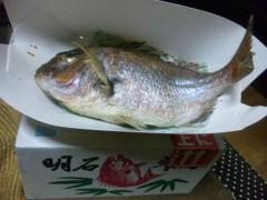 アントニオ小猪木 公式ブログ/正月に鯛 画像1