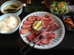 アントニオ小猪木 公式ブログ/ランチに焼肉! 画像1