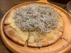 アントニオ小猪木 公式ブログ/しらすチーズピザ! 画像1