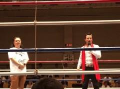 アントニオ小猪木 公式ブログ/ボクシングのリングに登場! 画像1