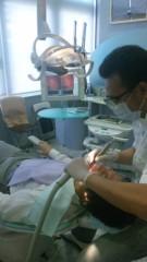 アントニオ小猪木 公式ブログ/折れた歯の治療 画像1
