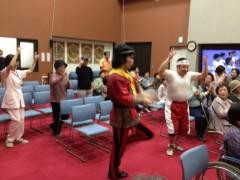 アントニオ小猪木 公式ブログ/高齢者の皆さんと踊ったり 画像1